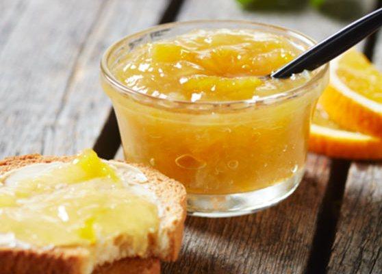 Citrus och karamellmarmelad