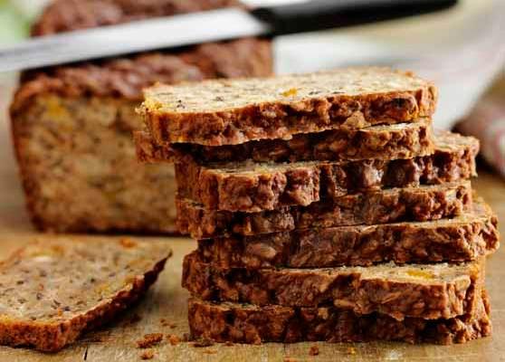 Glutenfritt fullkornsbröd