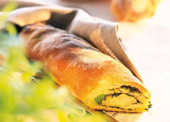 Gröna baguetter