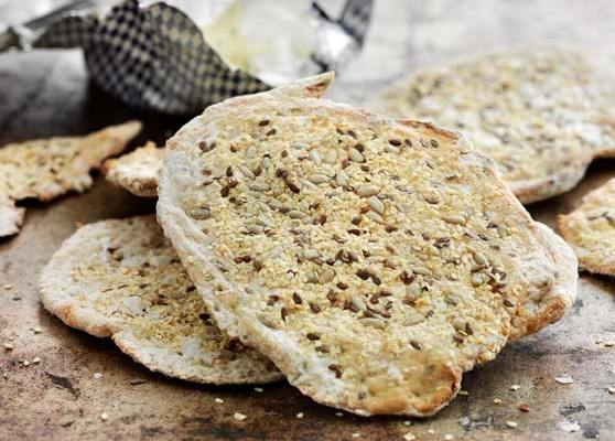 Knäckebröd med frön