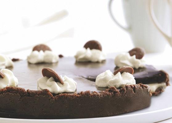Kola och chokladtårta