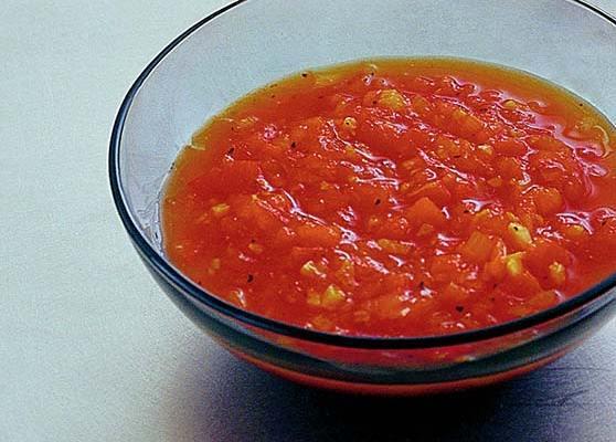 Paprika och tomatchutney