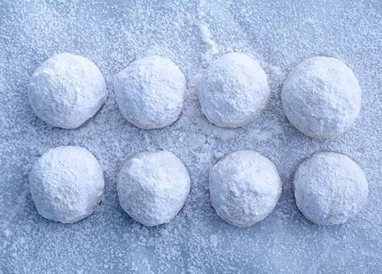 Snöbollskakor