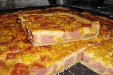Tarta de Jamón y Choclo Receta fácil
