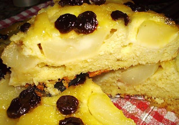 Torta de Peras sin manteca