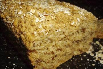 Pan de Avena sin harina fácil