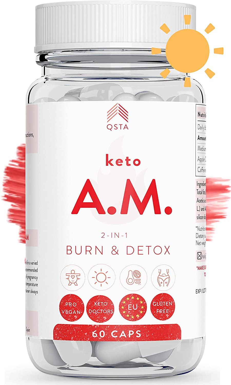 Keto Plus Original AM (45 DIAS) - Quemagrasas potente para adelgazar y rapido
