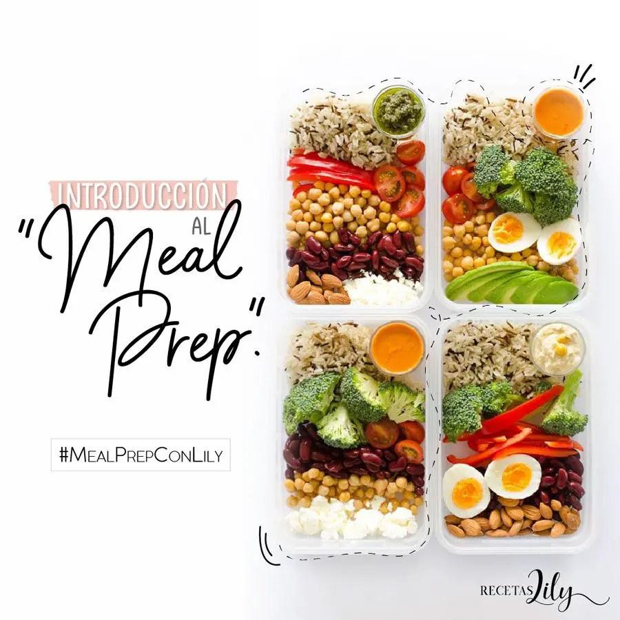 Meal prep: Cómo empezar