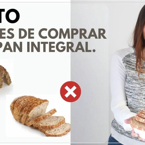 pan integral saludable