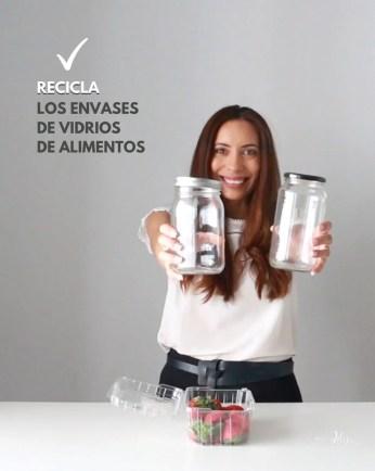 recicla los envases de vidrio