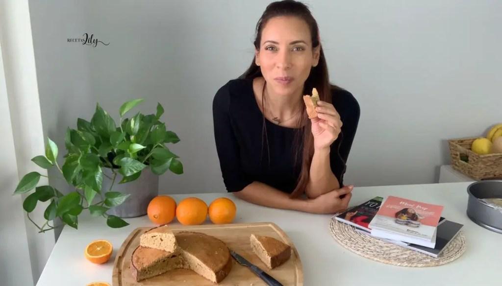 @recetaslily | Celebra a mamá con un delicioso bizcocho de naranja 1