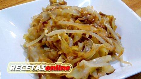 Repollo con soja - Recetas de cocina RECETASonline