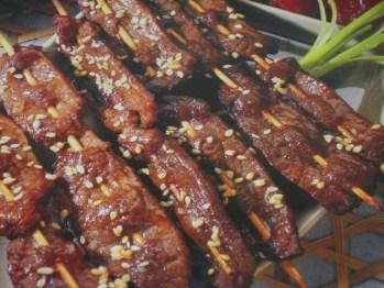Satay de ternera - Recetas de cocina RECETASonline