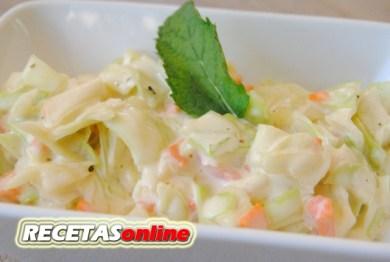 Ensalada de col - Recetas de cocina RECETASonline