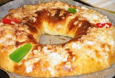 Roscon de Reyes - Recetas de cocina RECETASonline