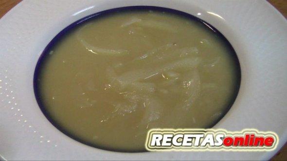 Sopa de cebolla - Recetas de cocina RECETASonline