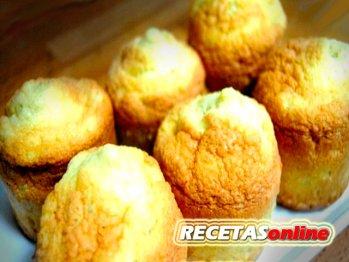 Muffins de almendra - Recetas de cocina RECETASonline