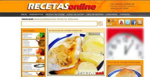 Nueva imagen RECETASonline - Recetas de cocina RECETASonline