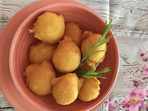 Buñuelos de calabaza receta