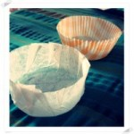 Como hacer moldes de papel para magdalenas