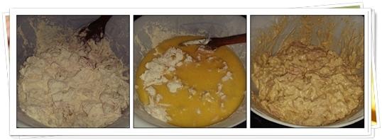 Pasos Magdalenas saladas de Jamón, Piña y Queso