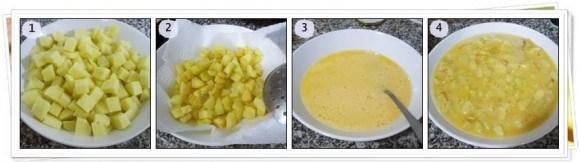 Pasos Tortilla de Patatas