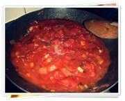 Salsa de tomate con sofrito