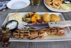 facil receta de pollo griego