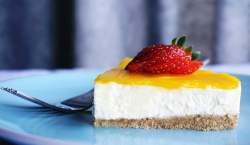 Cheesecake de pudín de limón
