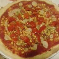 Pizza fusión con ají chileno