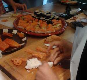 Atelier sushis & makis