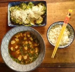 repas cuisine asiatique