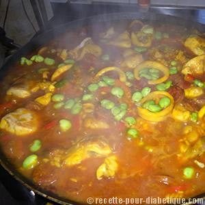 paella-cuisson