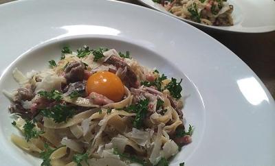 tagliatelles-carbonara-champignons