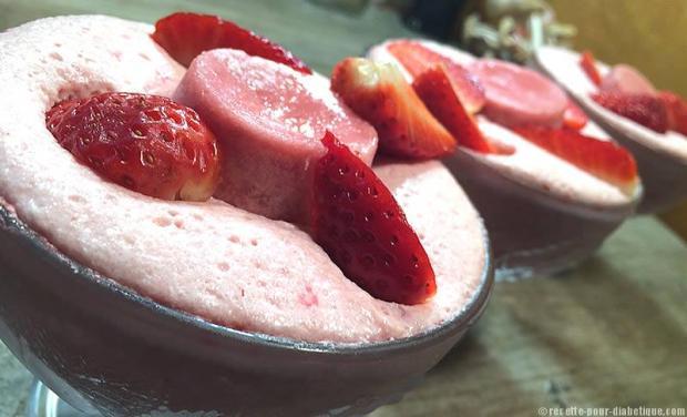 mousse-fraise