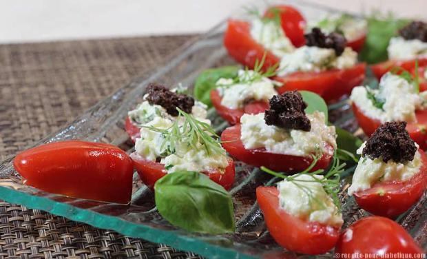 mini-tomates-farcies-mozarella