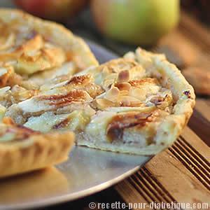 tarte-pomme-sans-sucre