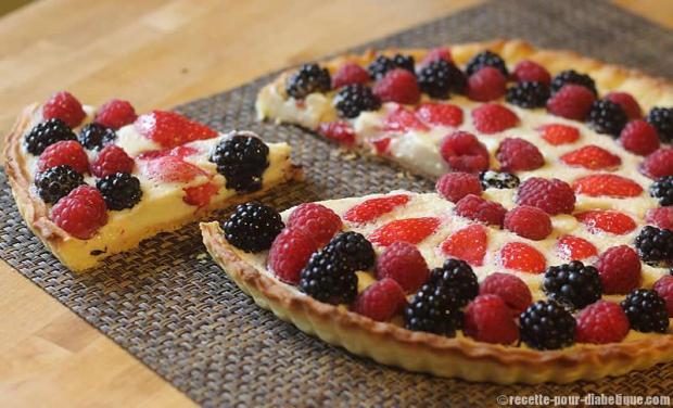 tarte-fruits-rouges