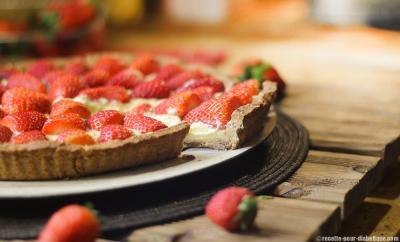 tarte-aux-fraises-allége-sans-lactose