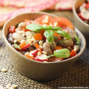 salade-haricot-borlotti