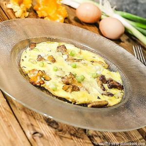 omelette-cebette-girolles