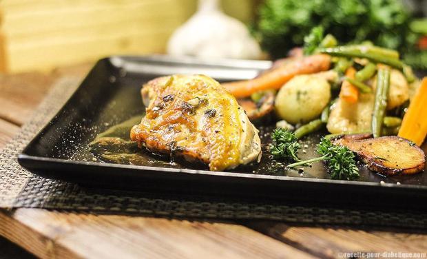 poulet-jaune-cepes