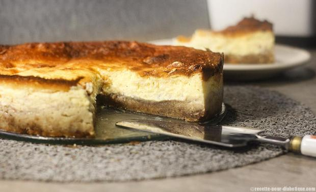 gateau fromage blanc spéculosmarron