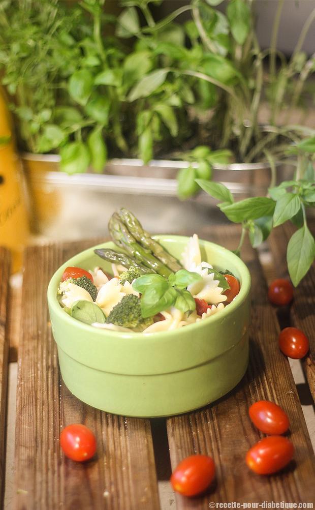 Préparez votre salade de pate aux farfalles