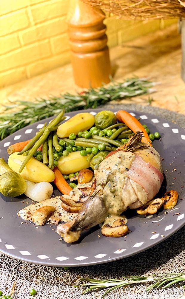 pintade-vapeur-legumes