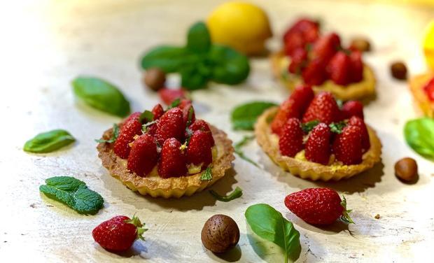 tartelette-fraise-keto