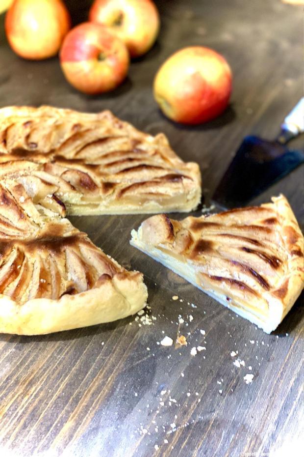 tarte pommes ricotta