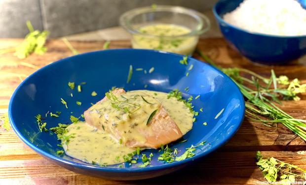 saumon-bearnaise