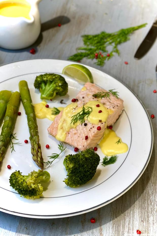 saumon-legumes-vapeur