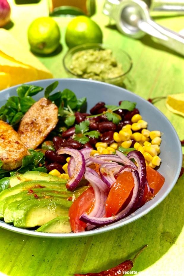 salade méxicaine